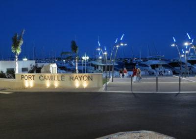 Port Camille Rayon nouvelle entrée