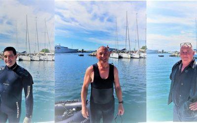 Visite guidée avec Jean-Claude Abot dans les fonds sous-marins du port Camille Rayon