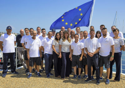 L'équipe du port 2018