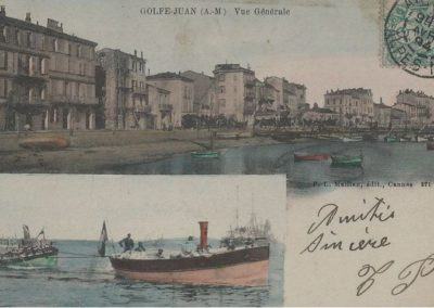 General view sea side around 1900