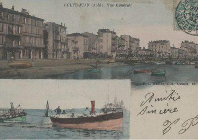Golfe-Juan vue générale vers 1900