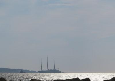 Sailing boat A