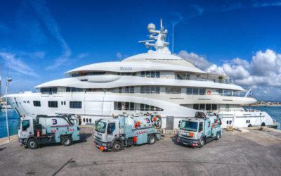 Blue Marine , le nettoyeur des ports !