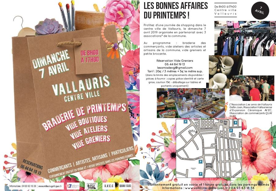 Spring Yard Sale  Vallauris