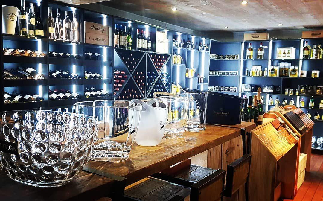 Nath & Co : a nice tasting corner!