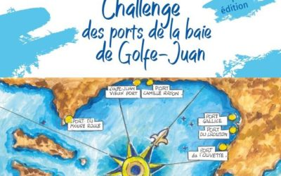 Challenge of the ports of the bay of Golfe- Juan